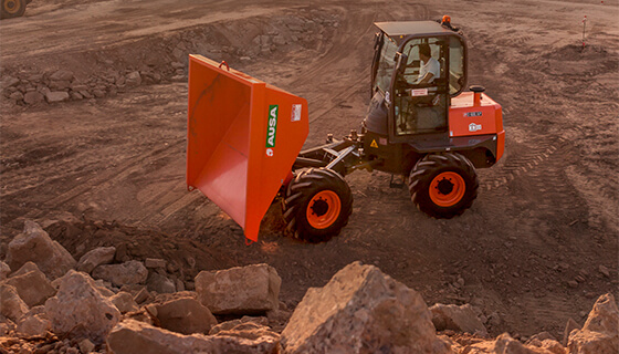 AUSA dumpers are now available from Diamond A Equipment